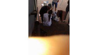 Juanita, a los besos en Uruguay con José Palazzo, el ex de Andrea Rincón
