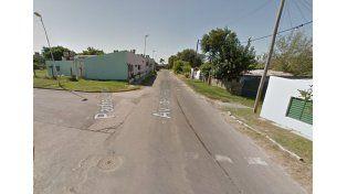 El niño fue visto detrás de la Escuela Hogar. (Foto: Google)