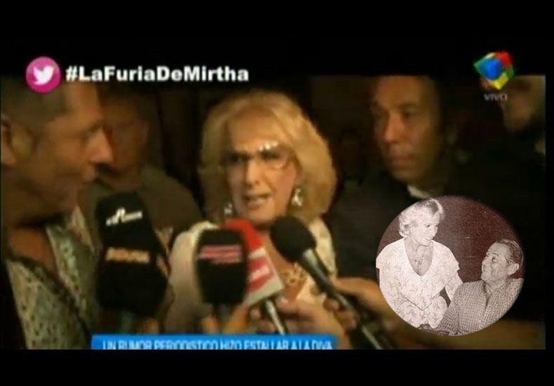 Esto dijo Mirtha Legrand sobre la supuesta hija extramatrimonial de Daniel Tinayre