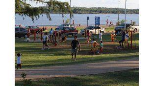 Sucedió en la costanera de Concordia el domingo último. (Foto diario Río Uruguay)