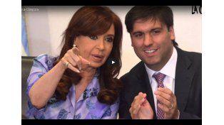 El video que La Cámpora le dedicó a Bossio
