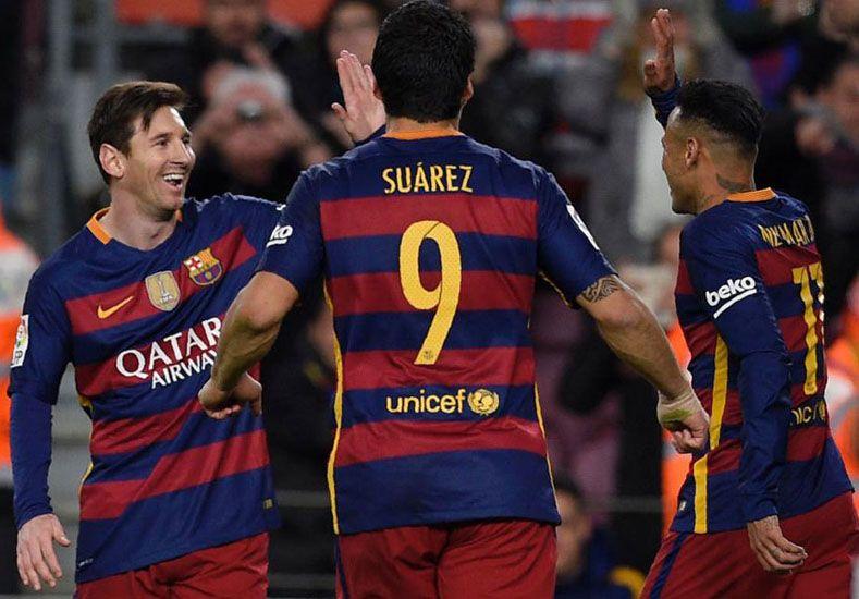 Messi aportó un golazo de tiro libre para la goleada de Barcelona a Celta