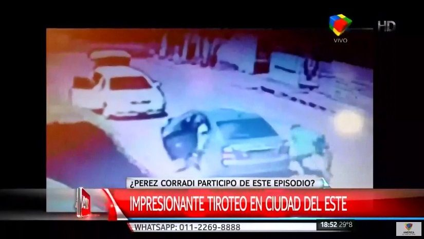 Ahora investigan si Pérez Corradi participó de un tiroteo en Paraguay