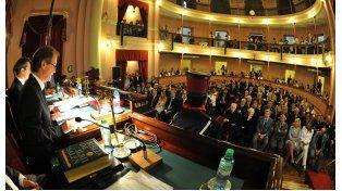 Bordet inaugura este lunes un nuevo período de sesiones de la Legislatura