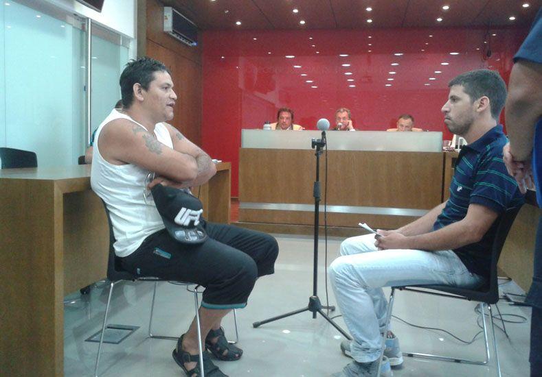 Cruces. Sala (derecha) afirmó que Rodríguez estuvo involucrado en el hecho ocurrido en 2013.