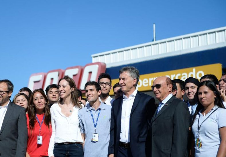 Macri anunció inversiones de Coto por unos 3500 millones de pesos