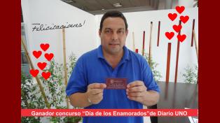 Los ganadores de la cena del Día de los Enamorados ya tienen sus vouchers
