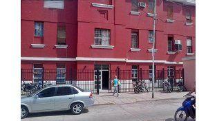 La docente está internada en el hospital Felipe Heras.  Foto: 03442