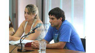 """""""Legítima defensa"""". González intentará demostrar en el juicio que se defendió de un ataque. (Foto UNO/Juan Ignacio Pereira)"""