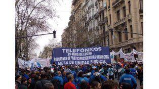 Foto Archivo: Mesa de Unidad Sindical