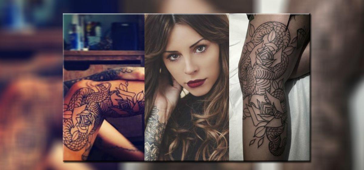 Candelaria Tinelli sorprendió con nuevo tatuaje
