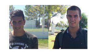 Callejo (izquierda) sumó experiencia en el 2015. Marconato (derecha) busca su estreno en Primera.