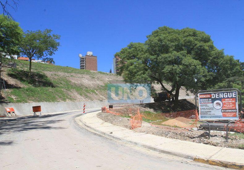 Etapas. En Acuerdo de San Nicolás avanzan con los trabajos. Luego será el turno de Osinalde.    Foto UNO/Juan Ignacio Pereira