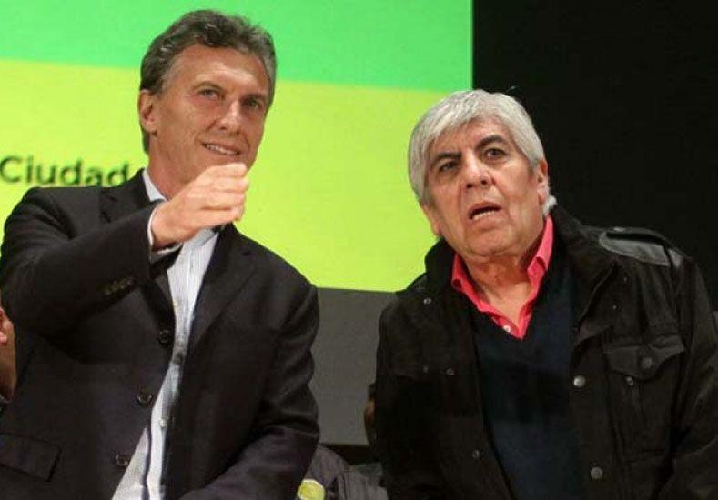 Macri y Moyano se reúnen este jueves.  Foto: Internet