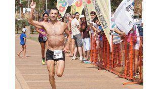 El paranaense Carlos Granero se quedó con la prueba.    Foto Gentileza/Prensa Pruebas Combinadas