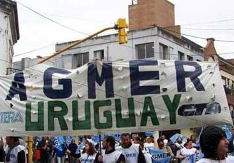 Agmer Uruguay.   Foto: Miércoles Digital