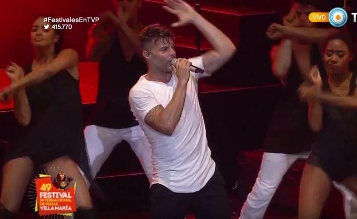 Los hits y el carisma de Ricky Martin llegaron a Villa María