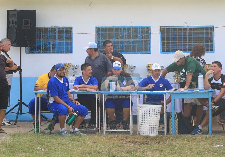 La mesa de control del torneo Palmira Cáceres.  Foto UNO/Juan Ignacio Pereira