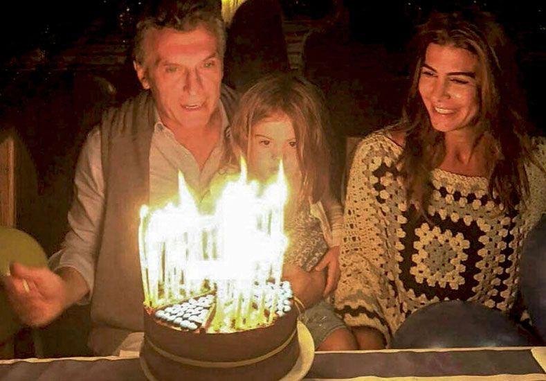 Macri celebra su cumpleaños en una estancia de Ascochinga