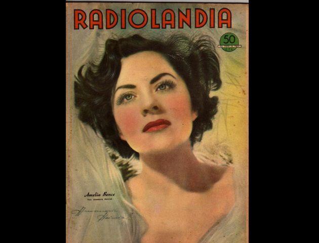 Amelia era una actriz muy reconocida en el ambiente artístico.