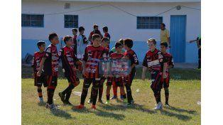 Las promesas de Patronato también forman parte del torneo. Foto UNO/Juan Manuel Hernández