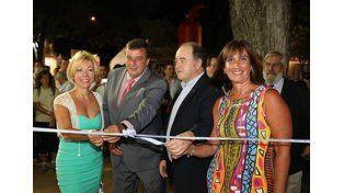 Luciano Pereyra abrió la Fiesta de la Artesanía