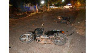 Choque de motos en Villaguay: uno iba alcoholizado
