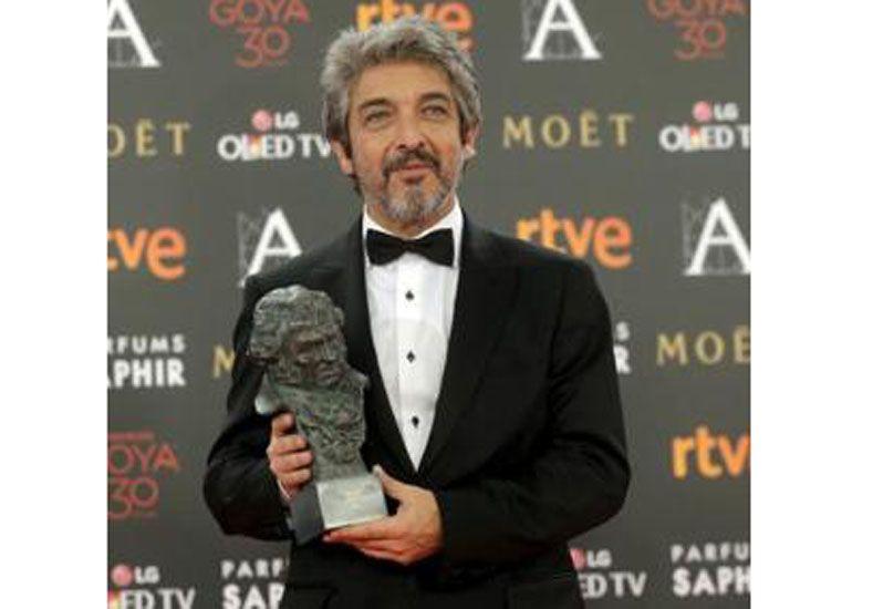 Ricardo Darín se quedó con el Premio Goya a mejor actor por Truman