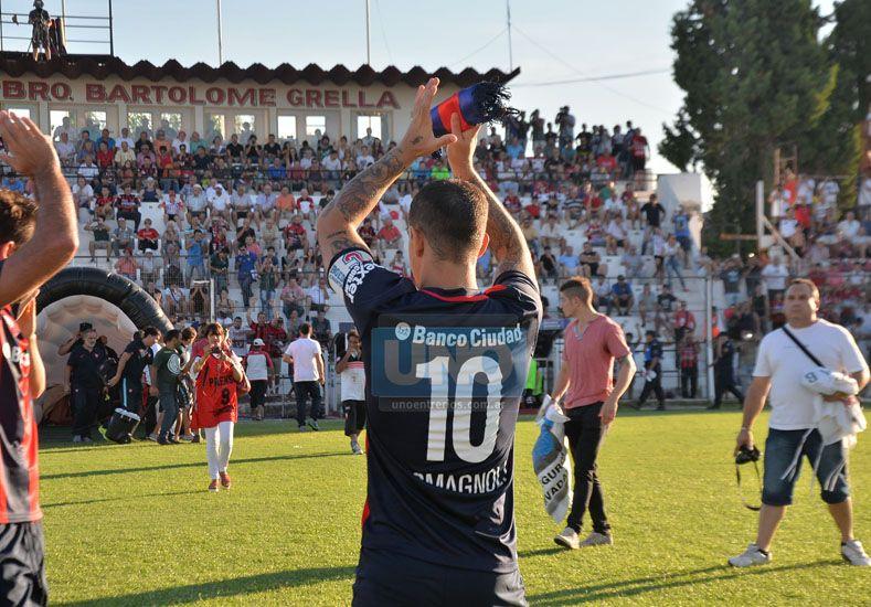 El Pipi Romagnoli destacó el juego del equipo en el segundo tiempo.  (Foto UNO Juan Ignacio Pereira/ Juan Manuel Hernández)