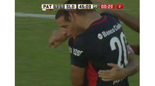 Romagnoli puso el empate para San Lorenzo