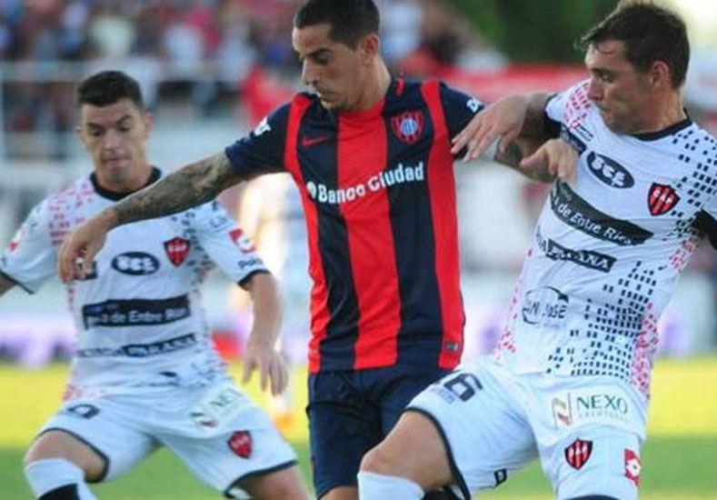 Patronato igualó ante San Lorenzo en el Grella. Foto: Olé