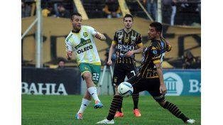 Aldosivi y Olimpo.  Foto: Fútbol para todos