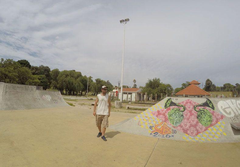 Federico Cauvet pintará mañana mientras transcurre El Dorado SkateFest