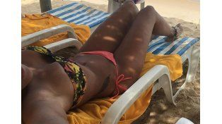 Ivana Nadal hot en las playas de Brasil