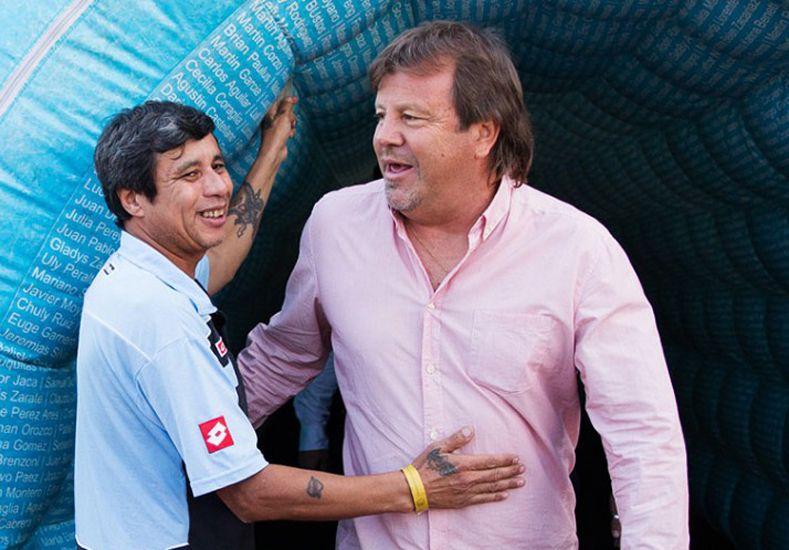 Ricardo Zielinski lleva cinco años al mando de Belgrano