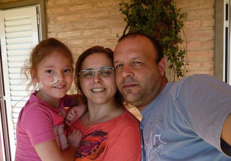 Amor puro. Matías y Fernanda idearon el Centro por su hija Stefy y a paso firme lo están logrando.