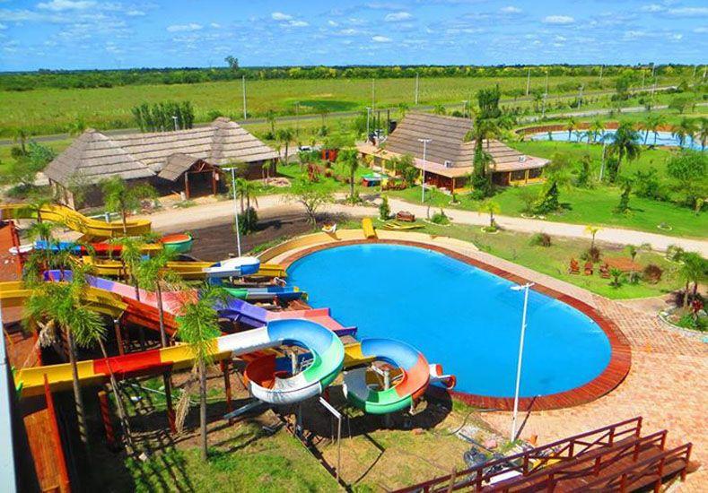 El parque acuático de María Grande está listo para ser inaugurado.   Foto: Internet