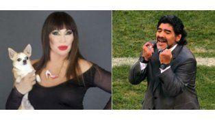El regalo de Maradona a Moria