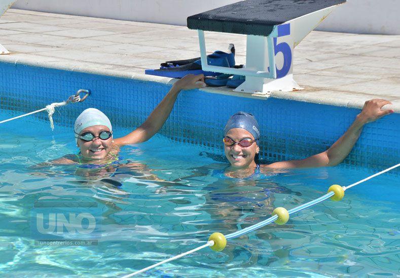 Yamila Alarcón y Sofía Magistrelli.  Foto UNO/Juan Manuel Hernández