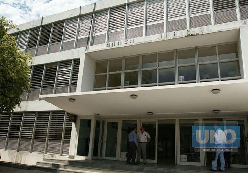 Tribunales de Paraná. Foto UNO/Archivo ilustrativa