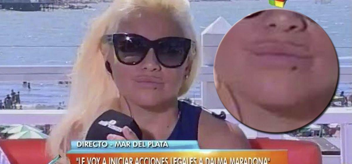 Dalma y Gianinna se rieron de los bigotes de Verónica Ojeda