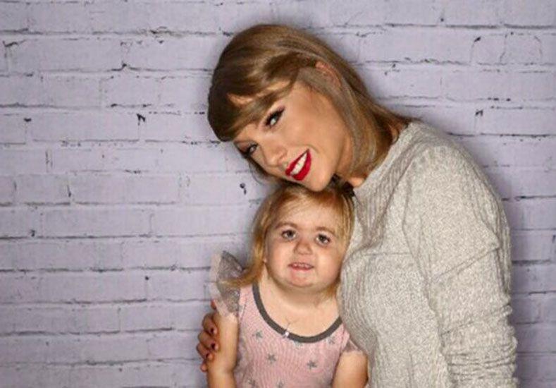 Audrey Nethery y Taylor Swift