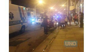 Fuerte choque en la esquina de Gualeguayhú y Cura Álvarez