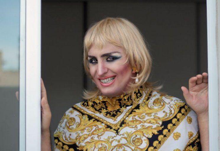 Franco Torchia, como travesti