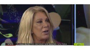 Reina Reech, molesta por la filtración de los exámenes clínicos de Juana Repetto