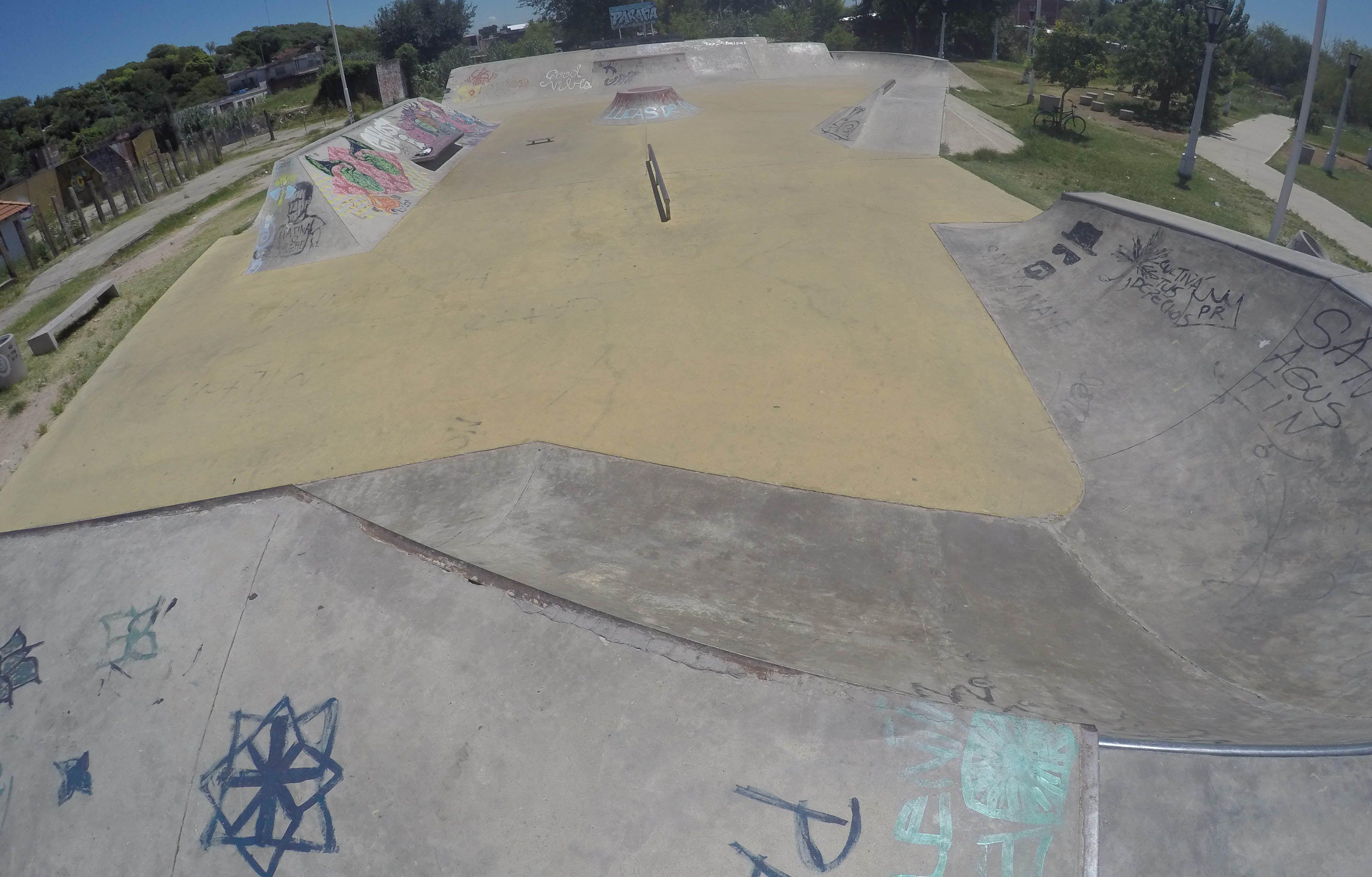 Una recorrida por el skatepark de Paraná y su reciente historia