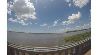 En febrero el Río Paraná seguirá por arriba del nivel de evacuación