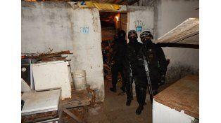 Venta. En la vivienda de la ciudad de Concordia se comercializaba cocaína.