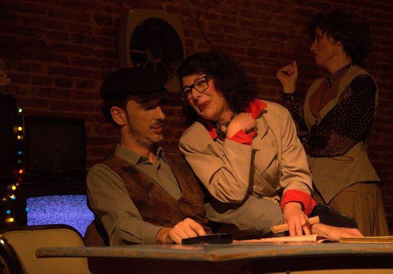"""Puesta. El Taller de Teatro de Jesús Fercher puso en escena la obra """"Remanente de invierno""""."""