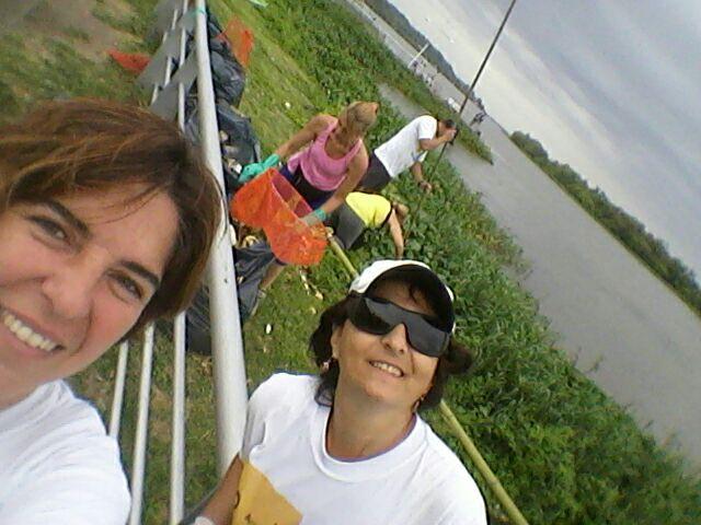 Finalizaron las tareas de limpieza en la costa del río Paraná